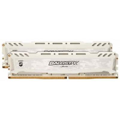 Модуль памяти DDR4 32Gb (2x16Gb) Crucial 2666Mhz Ballistix BLS2K16G4D26BFSC