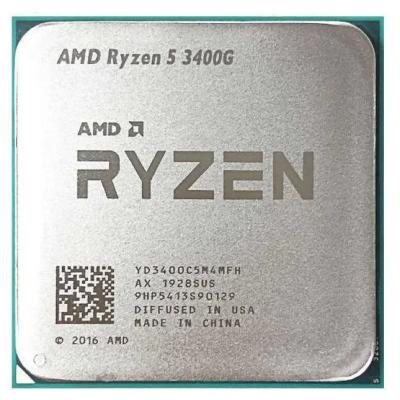 Процессор AM4 AMD Ryzen R5-3400G 3700Mhz OEM