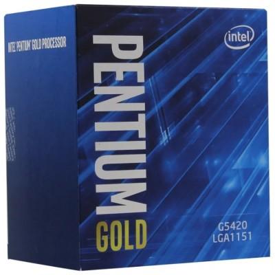 Процессор 1151v2 Intel Pentium G5420 3800Mhz BOX