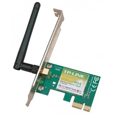 WiFi PCI-E TP-Link TL-WN781ND Беспроводный PCI Express адаптер, 150Мбит/с
