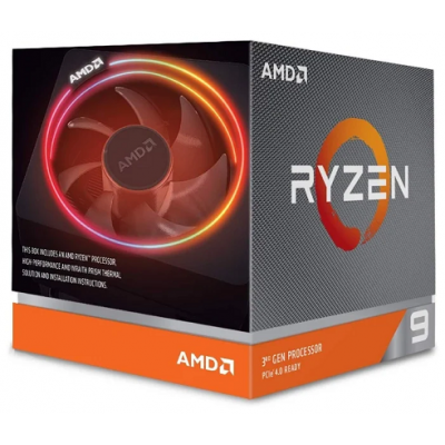 Процессор AM4 AMD Ryzen R9-3900X 3800Mhz BOX