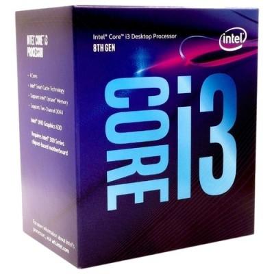 Процессор 1151v2 Intel Core i3 8100 3.60GHz BOX