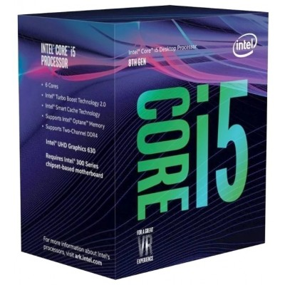 Процессор 1151v2 Intel Core i5 8400 2.8Gh BOX