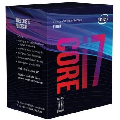 Процессор 1151v2 Intel Core i7 8700 3.2Gh BOX