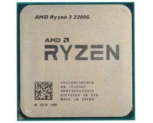 Процессор AM4 AMD Ryzen R3-2200G 3700Mhz OEM