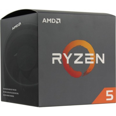 Процессор AM4 AMD Ryzen R5-2600 3400Mhz BOX
