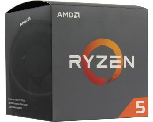 Процессор AM4 AMD Ryzen R5-2600 3400Mhz BOX