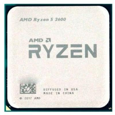 Процессор AM4 AMD Ryzen R5-2600 3400Mhz OEM