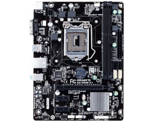 Материнская плата 1150 Gigabyte GA-H81M-S1 MicroATX