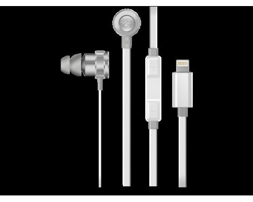 Наушники с микрофоном Razer Hammerhead for iOS Mercury (RZ04-02090200-R3M1)