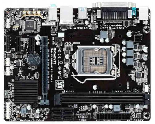 Материнская плата 1151 Gigabyte GA-H110M-DS2 DDR3