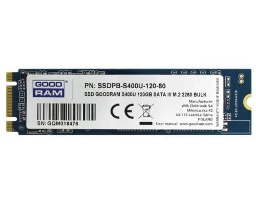 Накопитель SSD m.2 120Gb Goodram S400U SSDPR-S400U-120-80