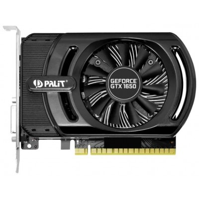Видеокарта PCI-E GeForce GTX1650 4Gb Palit StormX PA-GTX1650 NE51650006G1-1170F