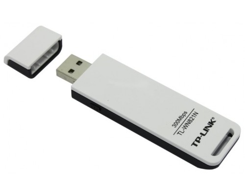 WiFi USB TP-Link TL-WN821N Беспроводный USB2.0 адаптер, 300Мбит/с