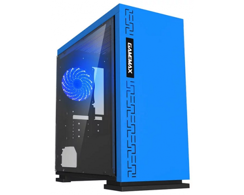 Корпус ATX GameMax H605 Expedition Blue H605BL EXPEDITION BL