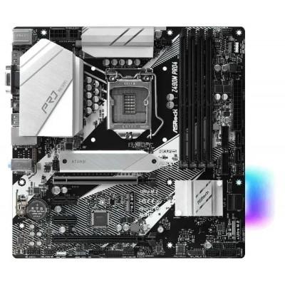 Материнская плата LGA1200 ASRock Z490M PRO4