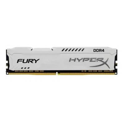 Модуль памяти DDR4 16Gb Kingston 2400Mhz HyperX FURY White CL15 (HX424C15FW/16)