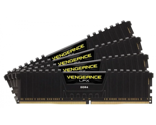 Модуль памяти DDR4 64Gb Corsair 2400MHz Vengeance LPX CL14 (CMK64GX4M4A2400C14)