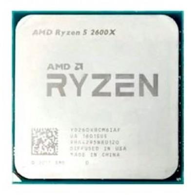 Процессор AM4 AMD Ryzen R5-2600X 3600Mhz OEM