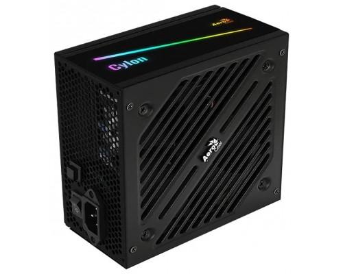 Блок питания ATX 600W Aerocool Cylon RGB LED