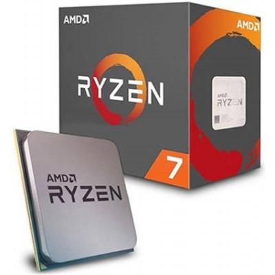 Процессор AM4 AMD Ryzen R7-2700X 3700Mhz BOX