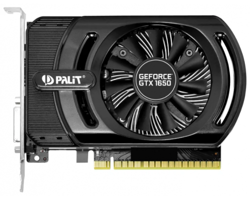 Видеокарта PCI-E GeForce GTX1650 4Gb Palit Gaming PRO