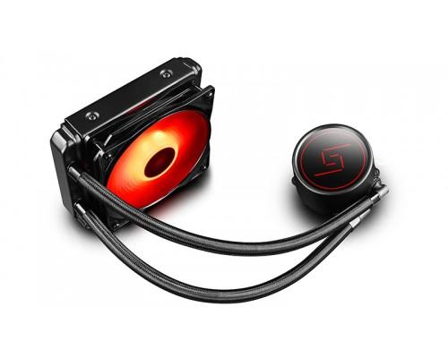 Комплект водяного охлаждения DeepCool GAMMAXX L120T Red