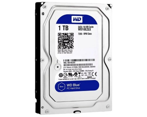Жесткий диск Sata 1000Gb WD Blue WD10EZEX 7200rpm
