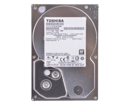 Жесткий диск Sata 3000Gb Toshiba DT01ACA300 7200rpm