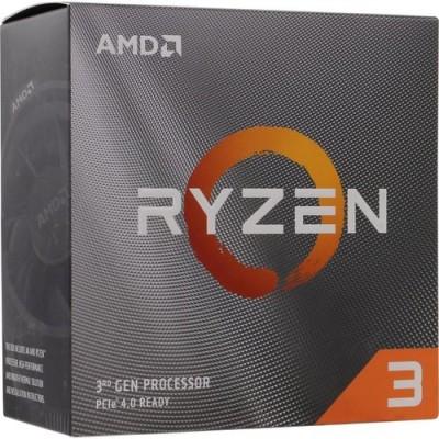 Процессор AM4 AMD Ryzen R3 3100 3600Mhz BOX