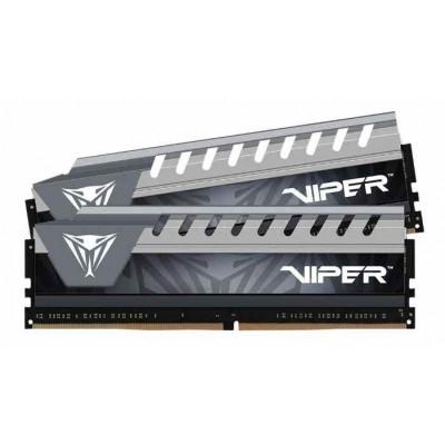 Модуль памяти DDR4 16Gb (2x8Gb) Patriot 2666Mhz Viper 4 Elite Kit Gry (PVE416G266C6KGY)