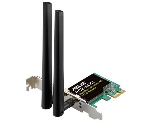 WiFi PCI-E Asus PCE-AC51 AC750 двухдиапазонный адаптер
