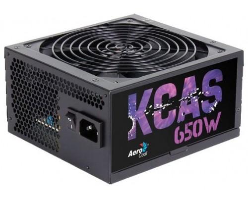 Блок питания ATX 650W Aerocool KCAS-650M