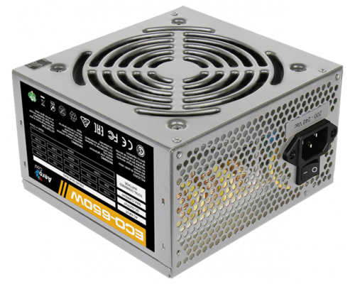 Блок питания ATX 650W Aerocool ECO-650W