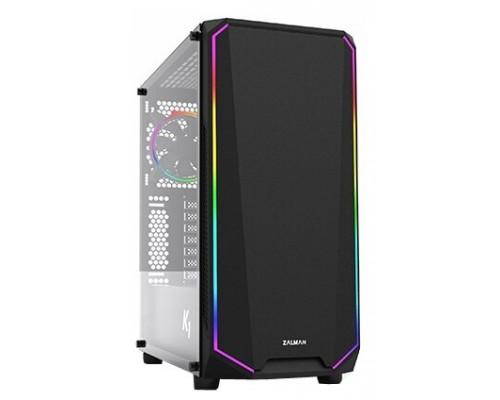 Корпус ATX Zalman K1 Black RGB