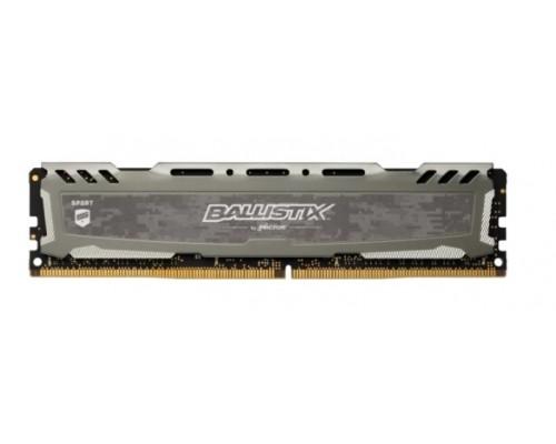 Модуль памяти DDR4 16Gb Crucial 2666MHz Ballistix CL16 (BLS16G4D26BFSB)